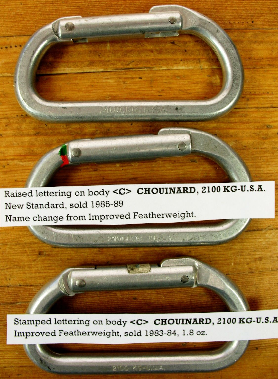 1983-88 Improved featherweight new standard variations..JPG